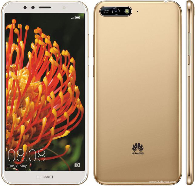 Huawei Y6 (2018) pictures, official photos