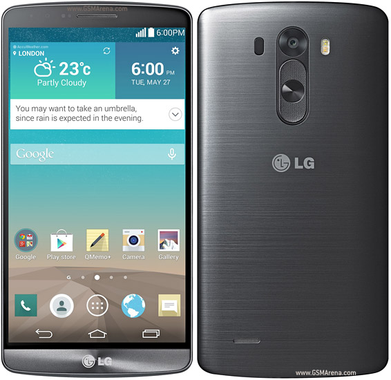 LG G3 pictures, official photos