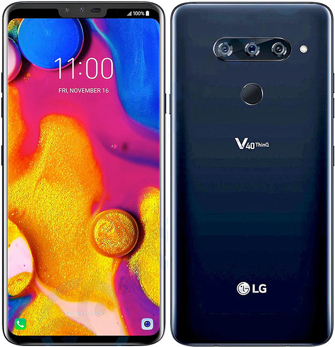 Image result for LG V40 thinQ images