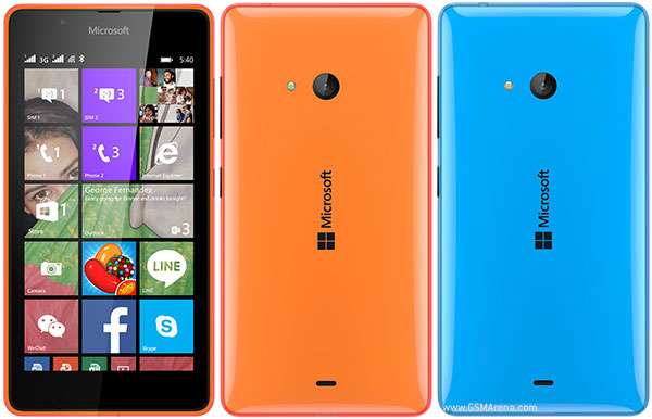 Microsoft Lumia 540 Dual SIM Pictures Official Photos