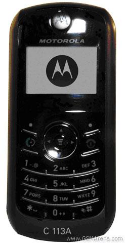 Motorola C113a