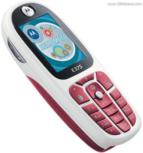 Motorola E375