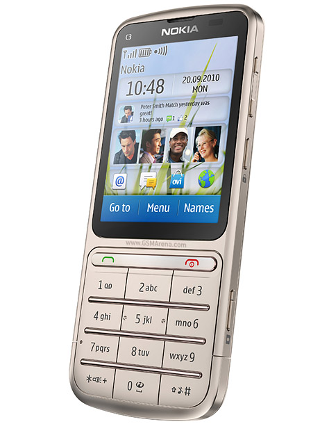 nokia c3 01 touch and type full phone specifications rh gsmarena com Nokia N8 Cover Nokia C3-01