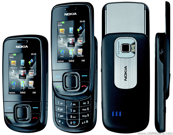 Nokia 3600 slide pictures, official photos
