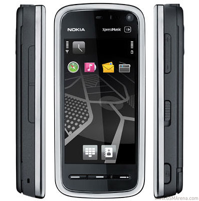 Nokia 5800 Navigation Edition pictures, official photos
