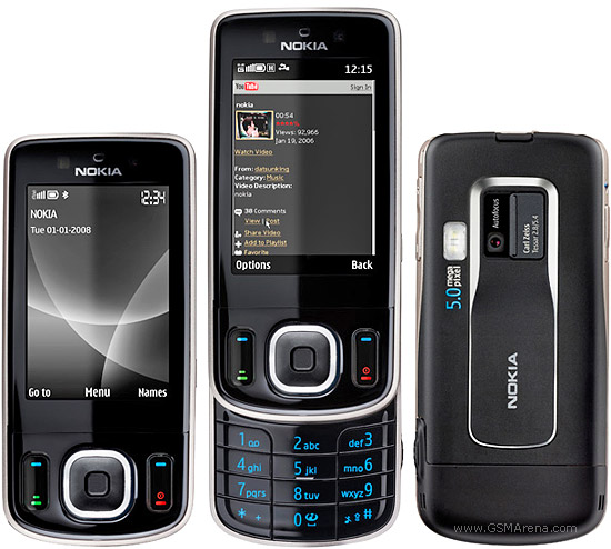 Nokia 6260 slide pictures, official photos
