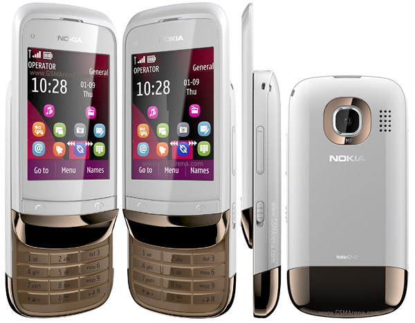 nokia c2 02 pictures official photos