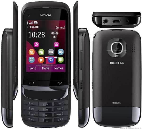 Nokia C2-02 pictures, official photos