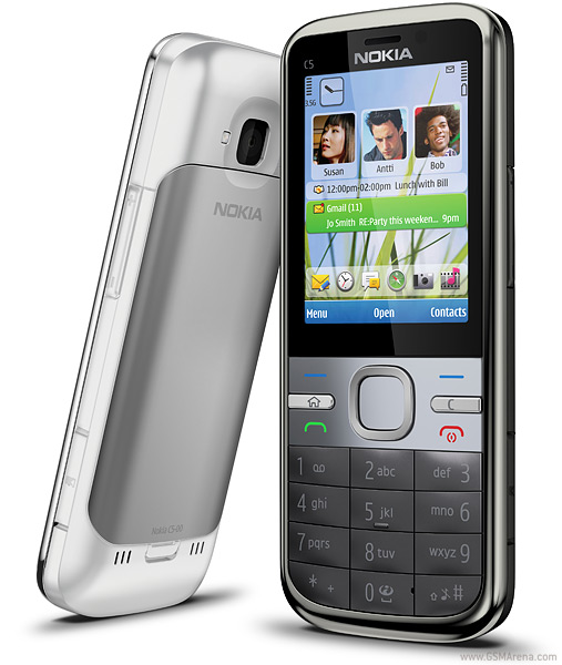 Nokia C5 pictures, official photos