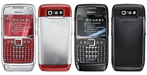 Nokia E71 Pictures Official Photos