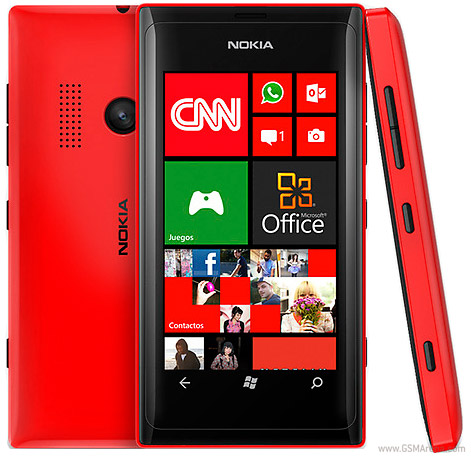 Nokia Lumia 505 pictures, official photos