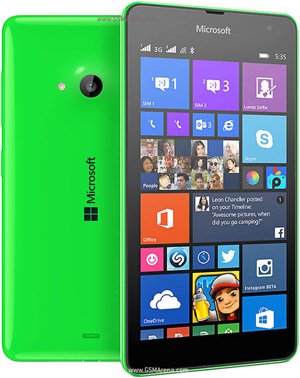 Microsoft Lumia 535 Dual Sim Pictures Official Photos