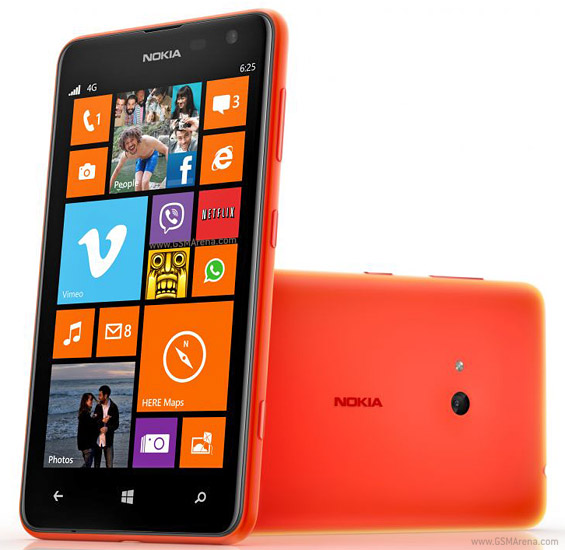 Nokia Lumia 625 Pictures Official Photos