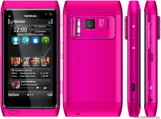 Nokia N8 pictures, official photos