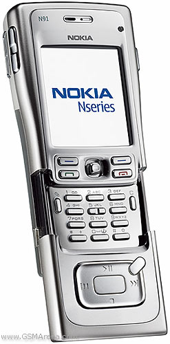 Nokia N91 Pictures Official Photos