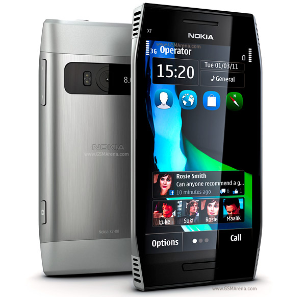Nokia X7 00 Pictures Official Photos