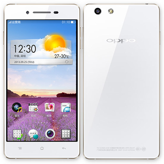 Oppo R1 R829T Pictures, Official Photos