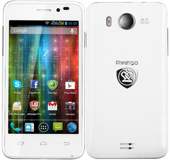 Prestigio MultiPhone 5400 Duo pictures, official photos