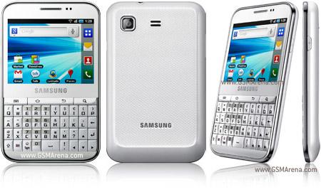 samsung galaxy pro b7510 pictures official photos rh gsmarena com Samsung Galaxy S I9000 Review Samsung Galaxy Pro B7510