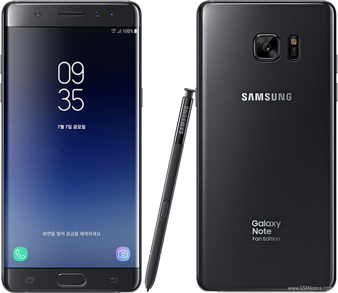 Samsung Galaxy Note FE Pictures Official Photos