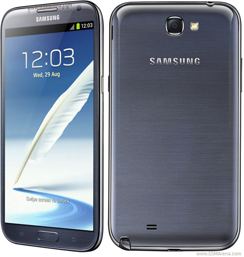 Samsung Galaxy Note II N7100 pictures, official photos