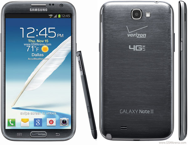 Samsung Galaxy Note Ii Cdma Pictures Official Photos