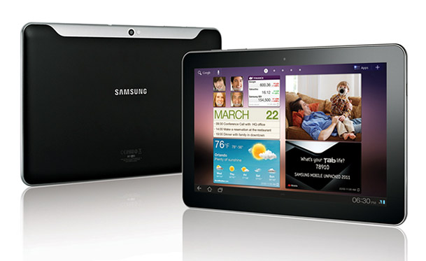 samsung galaxy tab 10 1 p7510 pictures official photos. Black Bedroom Furniture Sets. Home Design Ideas