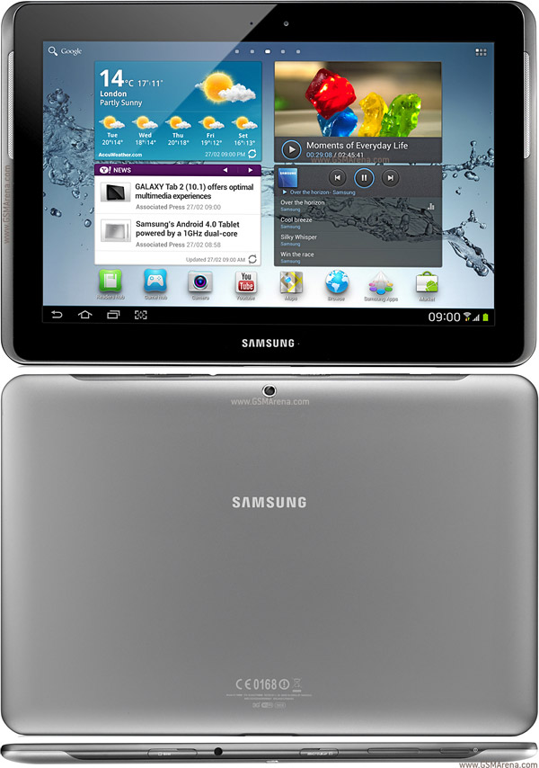 samsung galaxy tab 2 10 1 p5100 pictures official photos