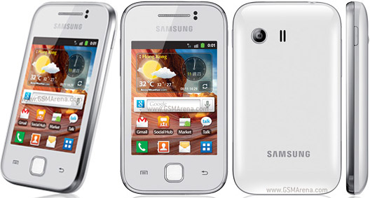 Samsung Galaxy Y S5360 pictures, official photos
