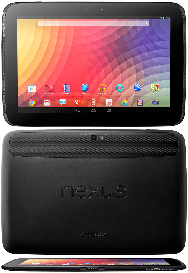Samsung Google Nexus 10 P8110 pictures, official photos