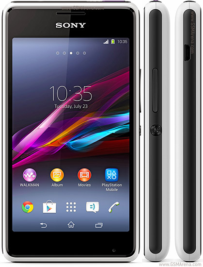 Sony Xperia E1 Pictures Official Photos