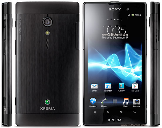 Sony Xperia ion LTE pictures, official photos