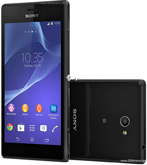 Sony Xperia M2 Pictures Official Photos