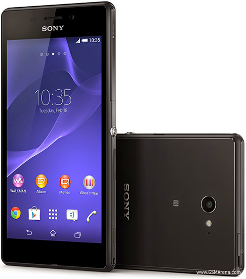 Sony Xperia M2 Aqua pictures, official photos