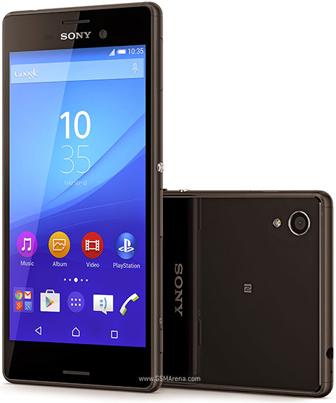 Sony Xperia M4 Aqua Dual pictures, official photos