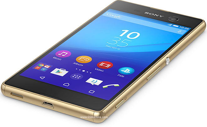 Sony Xperia M5 pictures, official photos