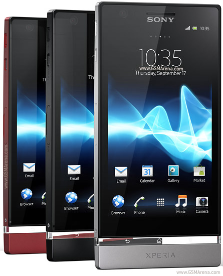 Sony Xperia P pictures, official photos