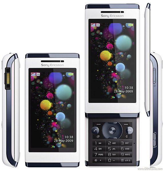 Sony Ericsson Aino pictures, official photos