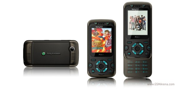 Sony Ericsson F305 pictures, official photos