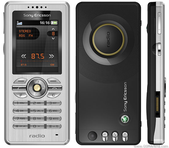 Sony Ericsson R300 Radio Pictures Official Photos