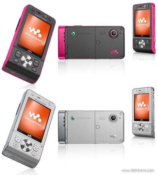 Sony Ericsson W910 with Vodafone