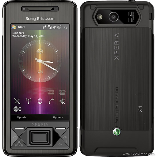 Sony Ericsson Xperia X1 Pictures Official Photos