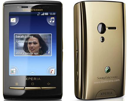 Sony Ericsson Xperia X10 Mini Pictures Official Photos
