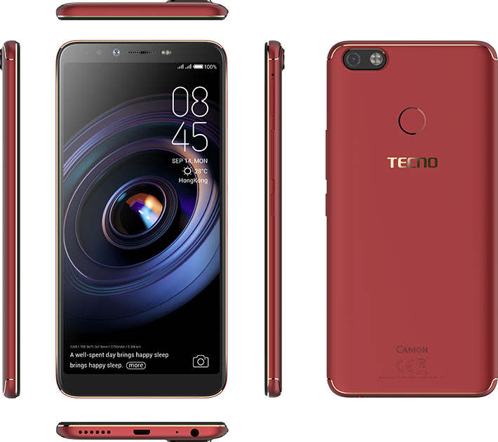 Image result for Tecno Camon X Pro