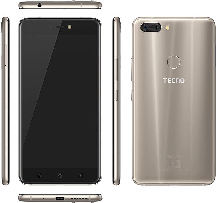 Tecno phantom 8 vs iphone 8