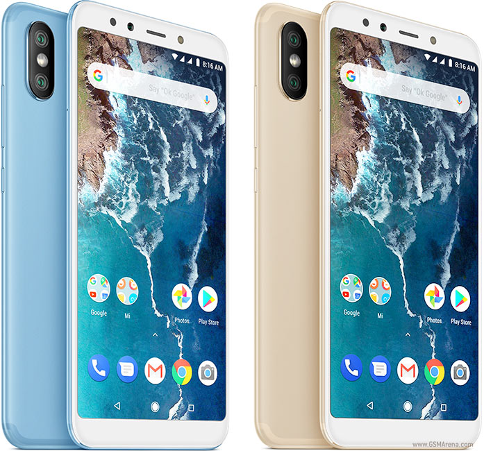 Xiaomi Mi A2 Mi 6x Pictures Official Photos