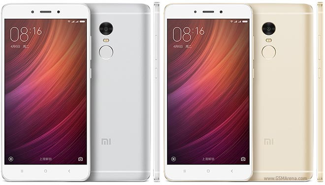 Xiaomi Redmi Note 4 Mediatek Pictures Official Photos